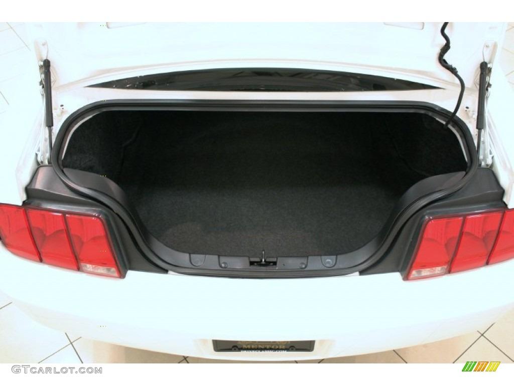 2006 Mustang V6 Premium Coupe - Performance White / Dark Charcoal photo #13
