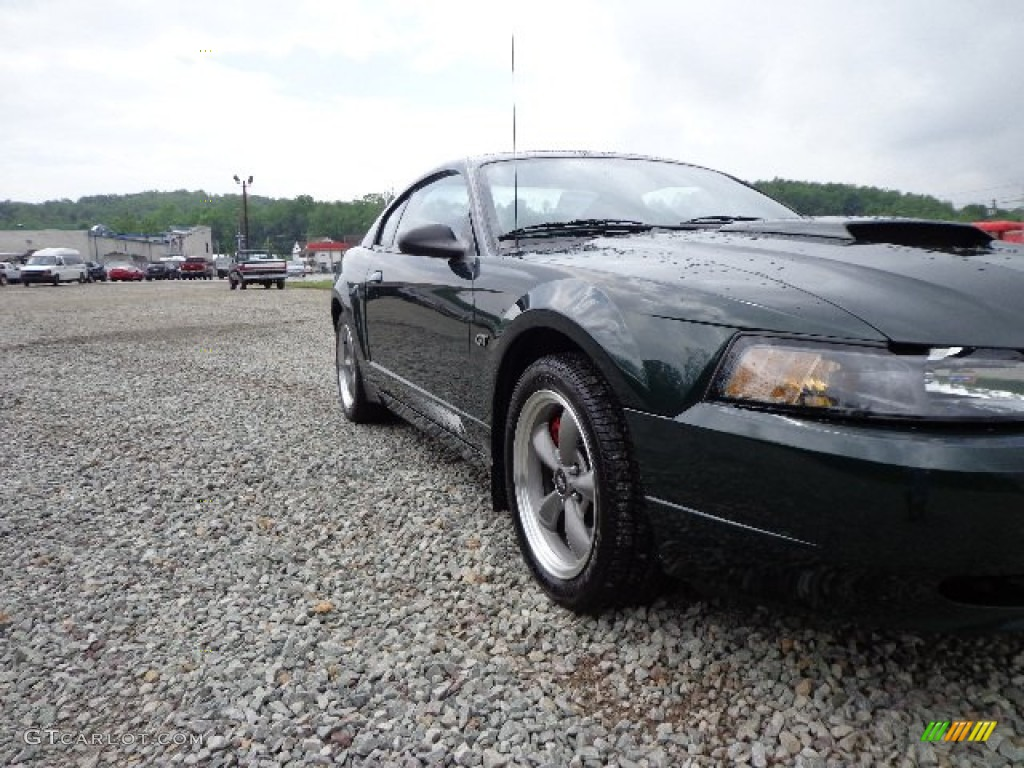 2001 Mustang Bullitt Coupe - Dark Highland Green / Dark Charcoal photo #1