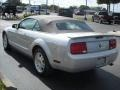 2007 Satin Silver Metallic Ford Mustang V6 Deluxe Convertible  photo #7