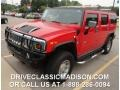 Victory Red 2004 Hummer H2 SUV
