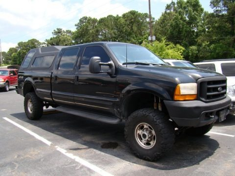 1999 Ford F350 Super Duty XL Crew Cab 4x4 Data, Info and Specs