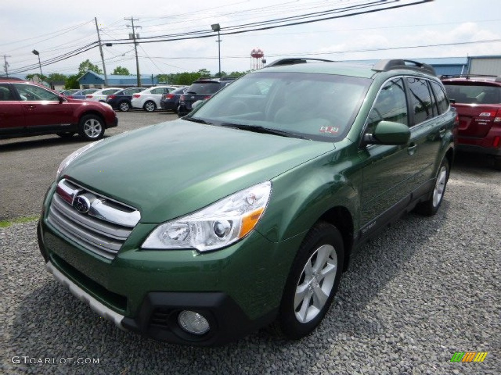 cypress green pearl 2014 subaru outback limited exterior photo 82213131. Black Bedroom Furniture Sets. Home Design Ideas