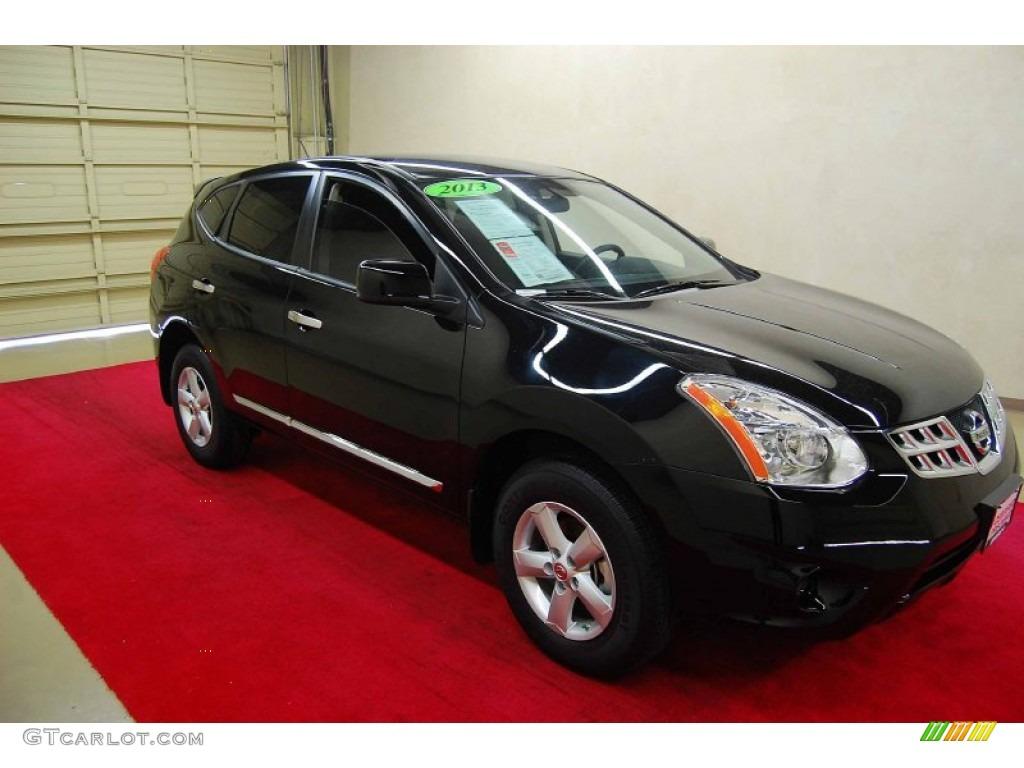 Nissan Rogue Select >> 2013 Super Black Nissan Rogue S Special Edition #82215524 | GTCarLot.com - Car Color Galleries