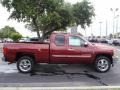 2013 Deep Ruby Metallic Chevrolet Silverado 1500 LT Extended Cab  photo #6