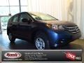 2013 Twilight Blue Metallic Honda CR-V LX AWD  photo #1