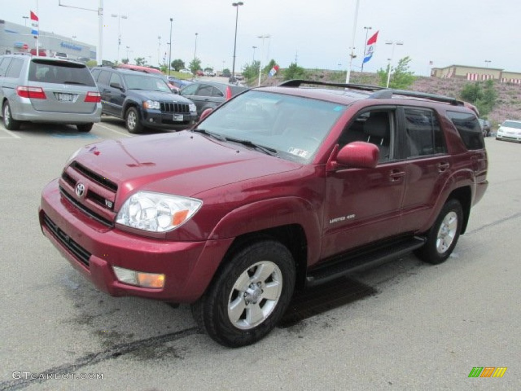 Salsa Red Pearl 2005 Toyota 4runner Limited 4x4 Exterior