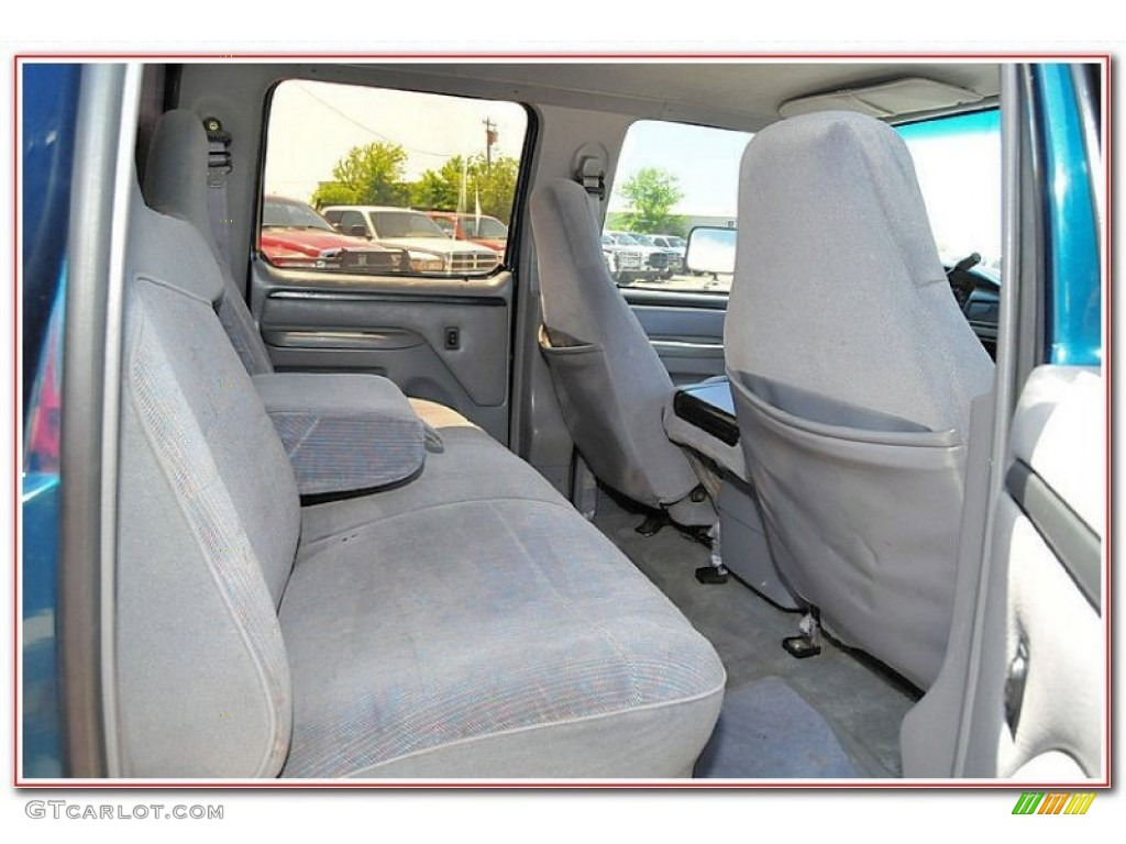1997 ford f250 xlt crew cab 4x4 rear seat photo 82237186. Black Bedroom Furniture Sets. Home Design Ideas