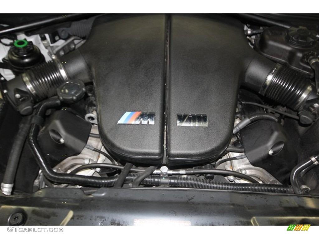 2008 Bmw M5 Sedan Engine Photos