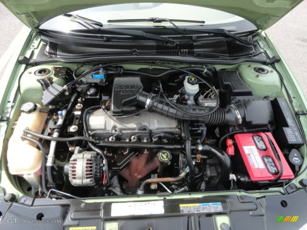 2002 Chevrolet Cavalier Ls Sedan Engine Photos