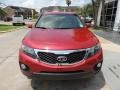 2011 Spicy Red Kia Sorento EX  photo #2