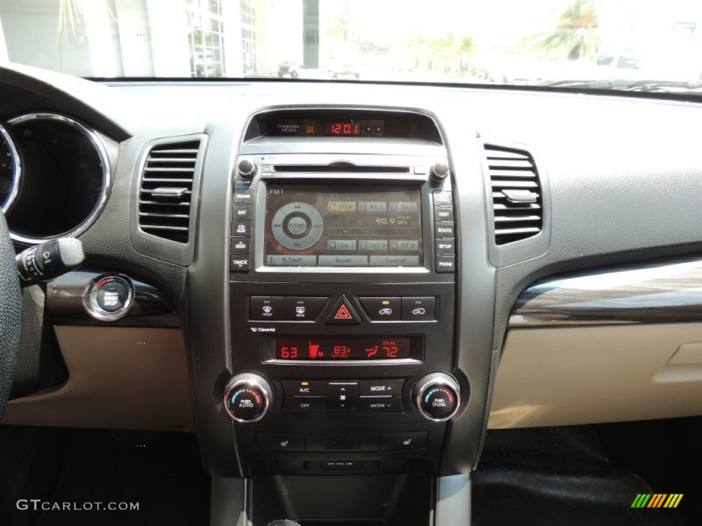 2011 Sorento EX - Spicy Red / Beige photo #19