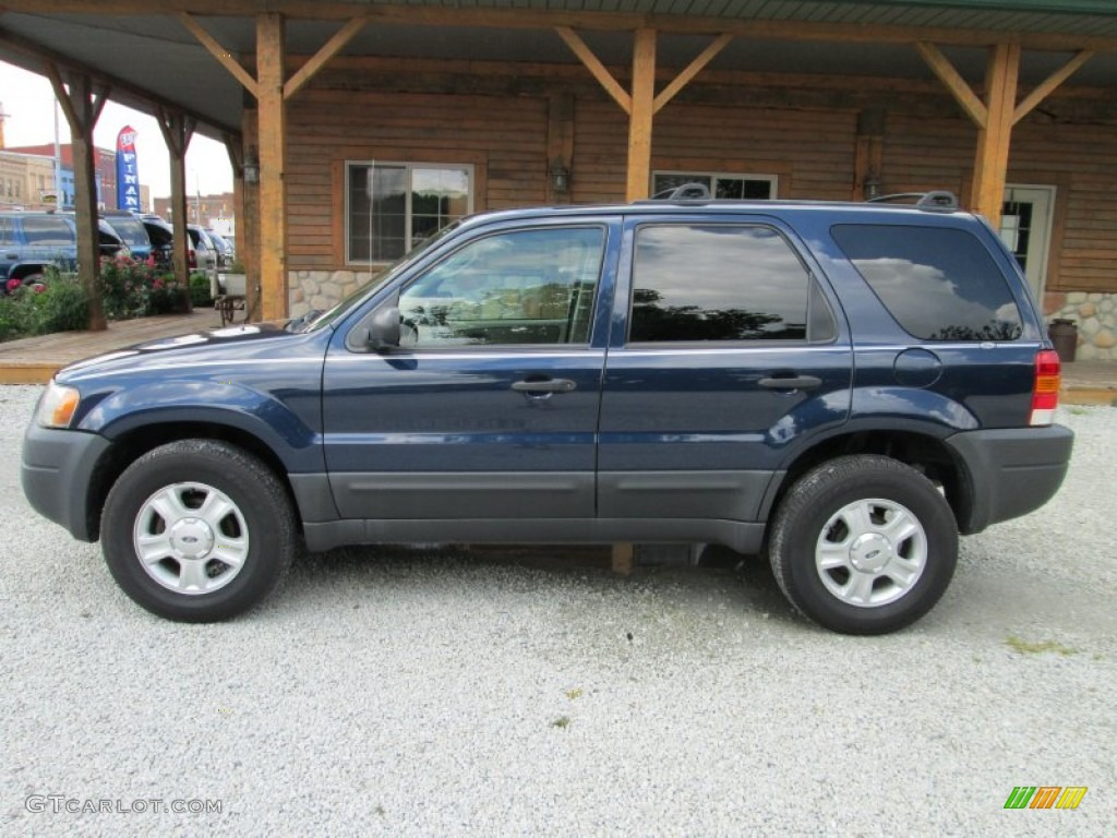 2003 true blue metallic ford escape xlt v6 4wd 82269931. Black Bedroom Furniture Sets. Home Design Ideas