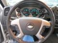 Ebony Steering Wheel Photo for 2008 Chevrolet Silverado 1500 #82293143