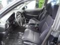 2002 Subaru Impreza Black Interior Interior Photo