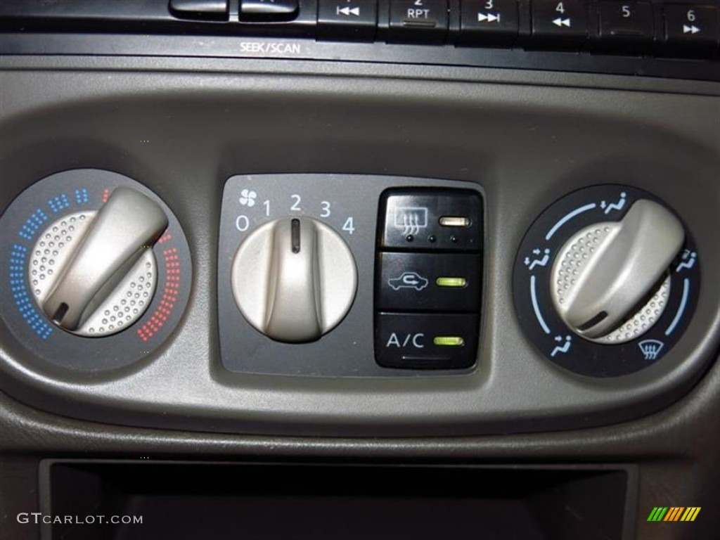 2003 nissan sentra gxe controls photo 82294862. Black Bedroom Furniture Sets. Home Design Ideas