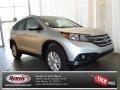 2013 Alabaster Silver Metallic Honda CR-V EX-L AWD  photo #1