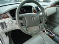 2007 Cadillac DTS Titanium Interior Steering Wheel Photo