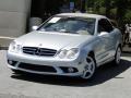 Diamond Silver Metallic 2007 Mercedes-Benz CLK 550 Cabriolet