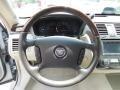 2010 Cadillac DTS Titanium/Dark Titanium Interior Steering Wheel Photo