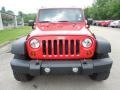 2012 Flame Red Jeep Wrangler Sport 4x4  photo #10