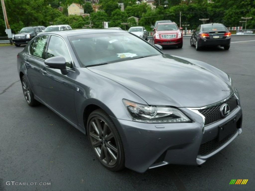 nebula gray pearl 2013 lexus gs 350 awd f sport exterior. Black Bedroom Furniture Sets. Home Design Ideas