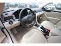 Cornsilk Beige 2013 Volkswagen Passat Interiors