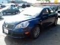 Deep Sea Blue Metallic 2010 Suzuki Kizashi SE