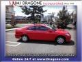 Rallye Red - Civic LX Coupe Photo No. 7
