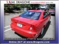 Rallye Red - Civic LX Coupe Photo No. 8