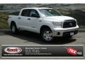 2013 Super White Toyota Tundra TRD CrewMax 4x4  photo #1