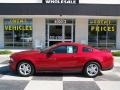 2011 Red Candy Metallic Ford Mustang V6 Coupe  photo #1