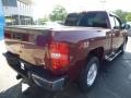 2009 Deep Ruby Red Metallic Chevrolet Silverado 1500 LT Extended Cab 4x4  photo #3