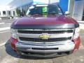 2009 Deep Ruby Red Metallic Chevrolet Silverado 1500 LT Extended Cab 4x4  photo #8