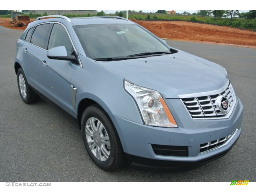 2013 Glacier Blue Metallic Cadillac Srx Luxury Fwd 82360449 Car Color Galleries