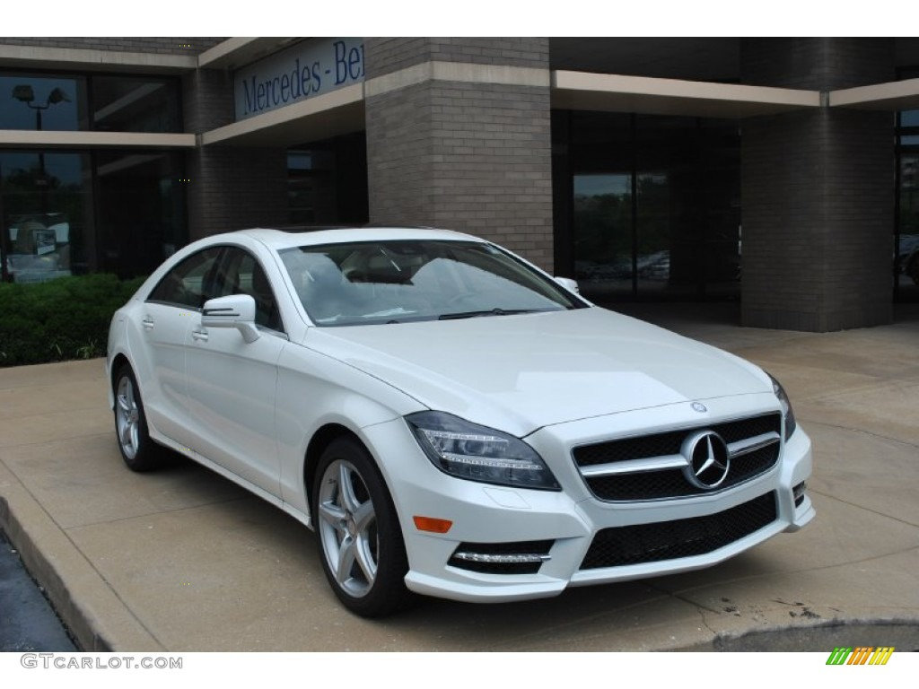 diamond white metallic 2014 mercedes benz cls 550 4matic coupe exterior photo 82367168. Black Bedroom Furniture Sets. Home Design Ideas