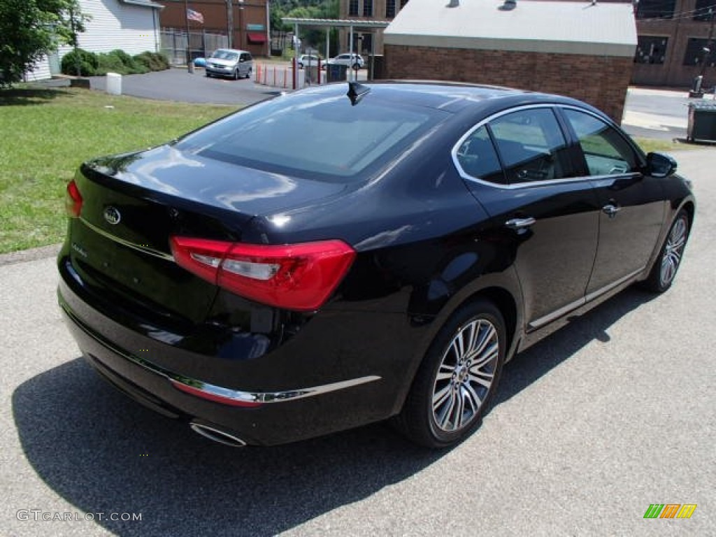 Aurora Black 2014 Kia Cadenza Premium Exterior Photo