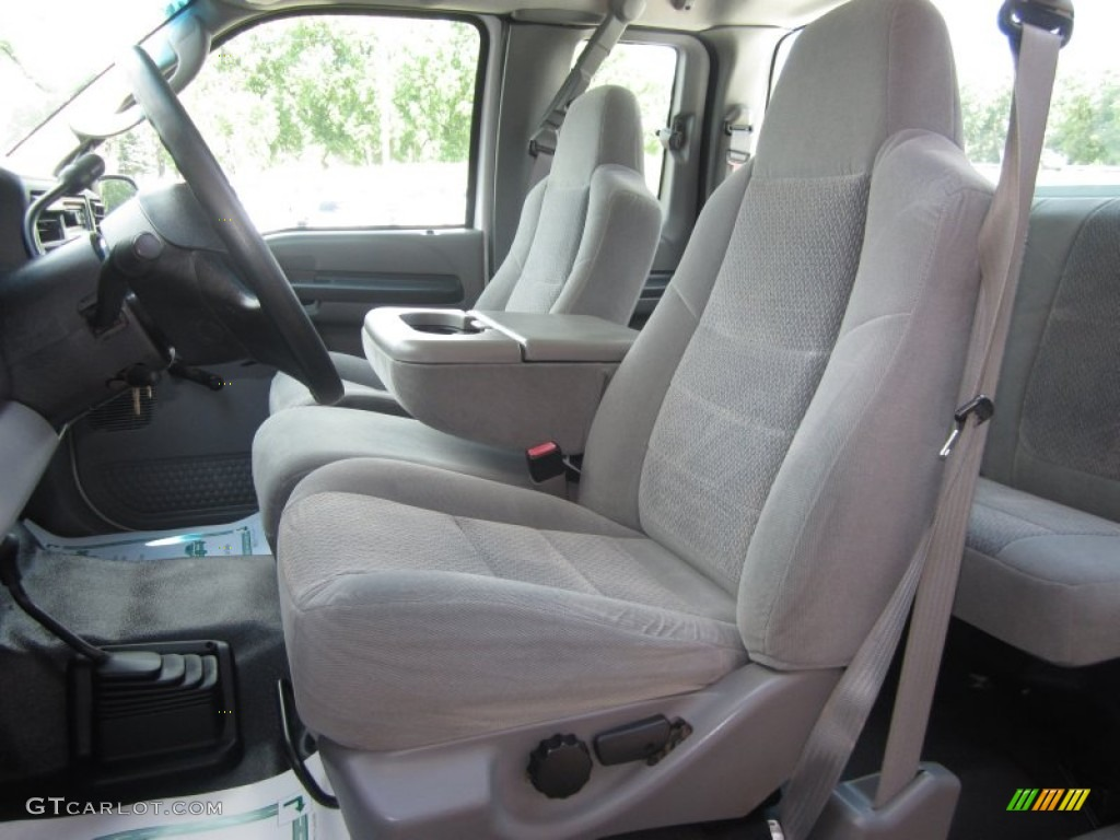 2003 Ford F250 Super Duty XL SuperCab 4x4 Chassis Front Seat Photos