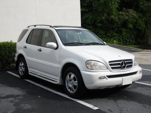 Great 2002 Mercedes Benz ML 320 4Matic Data, Info And Specs