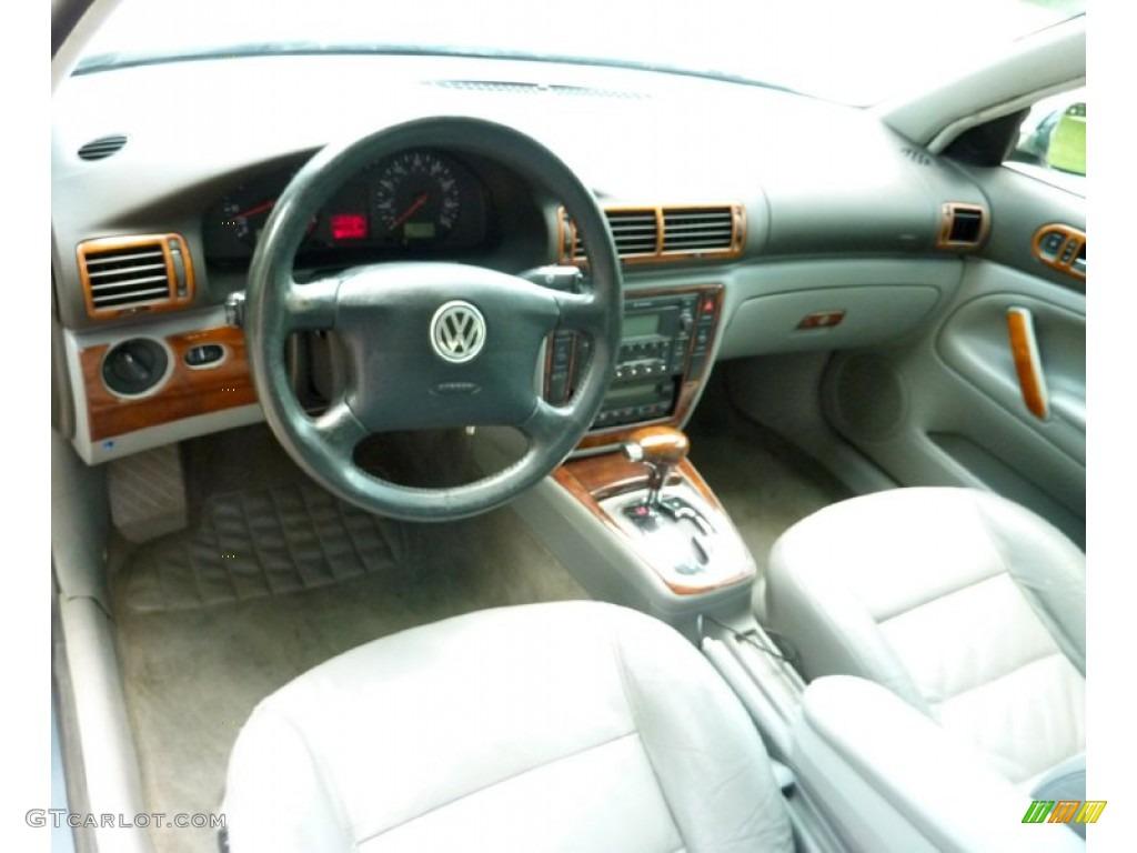Grey interior 2000 volkswagen passat glx v6 awd sedan photo 82382221 for Volkswagen passat 2000 interior