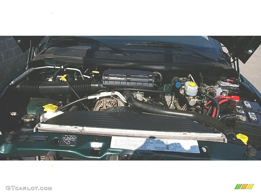 2000 Dodge Ram 3500 SLT Regular Cab Dump Truck Engine Photos
