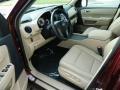 Beige Prime Interior Photo for 2013 Honda Pilot #82395395
