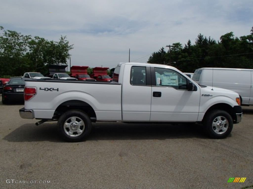 2013 oxford white ford f150 xl supercab 4x4 82389504 car color galleries. Black Bedroom Furniture Sets. Home Design Ideas