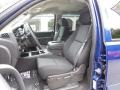 Ebony Front Seat Photo for 2013 Chevrolet Silverado 1500 #82401919