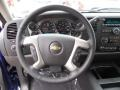 Ebony Steering Wheel Photo for 2013 Chevrolet Silverado 1500 #82401961