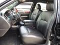 2008 Lincoln Town Car Black Interior Front Seat Photo