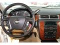 2008 Chevrolet Silverado 1500 Light Cashmere/Ebony Accents Interior Dashboard Photo