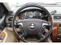 2008 Chevrolet Silverado 1500 Light Cashmere/Ebony Accents Interior Steering Wheel Photo