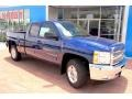 2013 Blue Topaz Metallic Chevrolet Silverado 1500 LT Extended Cab 4x4  photo #12