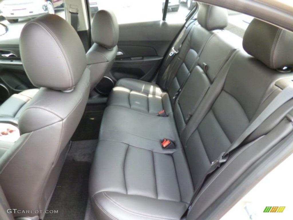 Jet Black Interior 2014 Chevrolet Cruze Lt Photo 82412223