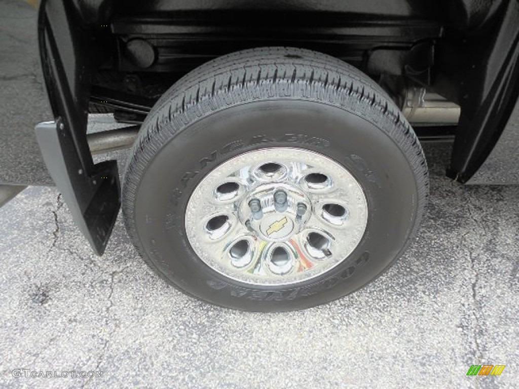 2011 Silverado 1500 Extended Cab 4x4 - Black / Dark Titanium photo #3